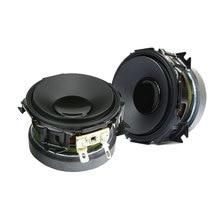SOTAMIA 2Pcs 2,25 Zoll Mitten Lautsprecher Altavoces 8 Ohm 15W Lautsprecher Medium Heimkino Hifi Audio Lautsprecher Soundbox spalte