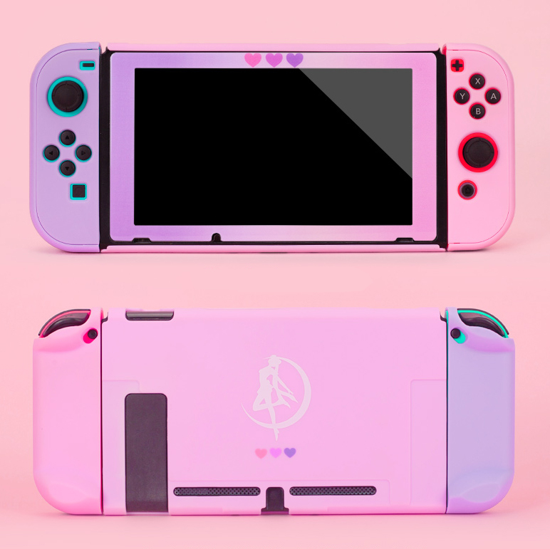 NS Switch Joy Con Protective Cover Case Colorful Cute PC Hard Cover Back Shell For Nintendo Switch NS Game Console Accessories