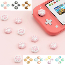 Cat Claw Thumb Grip Cap JoyCon Joystick Silicone Protective Cover Controller Thumbstick Case Box For Nintendo Switch Accessories