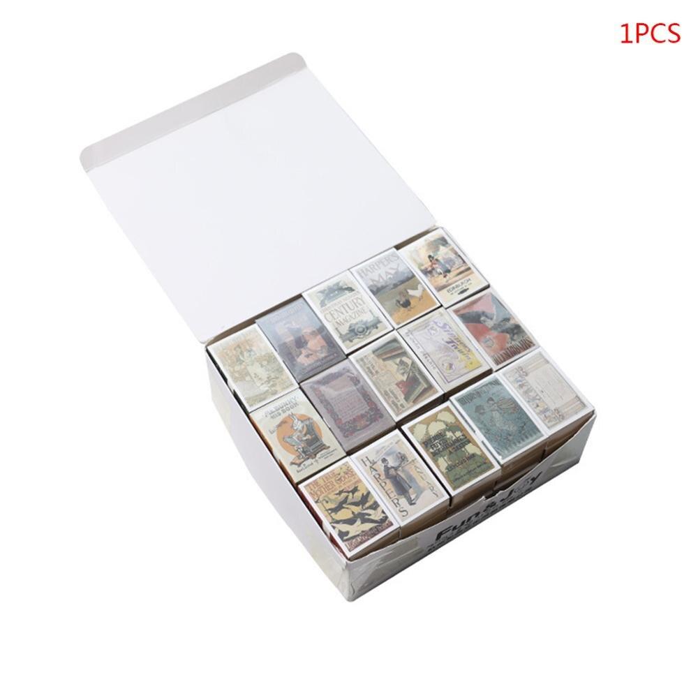 122 Sheet Mini Memo Pad Retro Matchbox Style Notebook Notepad School Stationery