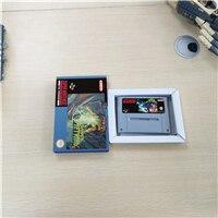 Super Super Metroided Version   EUR Version RPG jeu carte batterie économiser avec boîte de vente au détail