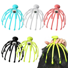 Claw Massager Body Massager Octopus Head Scalp Neck Equipment Stress Release Relax Massage Tens Pain Relief Head Care