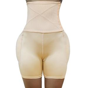 Image 5 - Shaperバットリフターヒップエンハンサーヒップ入りハイウエストおなかコントロールパンティー見えないブリーフ偽のお尻臀部痩身腿