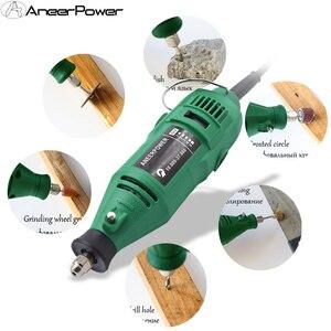Image 4 - Dremel חריטת עט מטחנות 180W חרט מיני תרגיל מטחנה חשמלי רוטרי כלי מיני טחנת Diy תרגיל טחינה חשמלי מקדחות