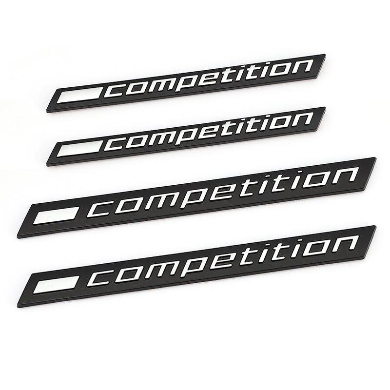 3D конкуренции логотип автомобиля Стикеры эмблема на багажник наклейка для BMW Гром издание M1 M2 M3 M4 M5 M6 M7 M8 X3M X4M X5M X6M Стикеры