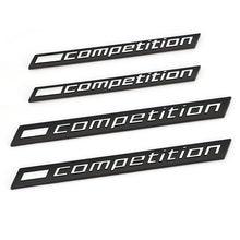 3D COMPETIÇÃO Logotipo Tronco Do Emblema Do Emblema Etiqueta Do Carro Decalque para BMW Trovão Edição M1 M2 M3 M4 M5 M6 M7 M8 X3M X4M X5M X6M Adesivo