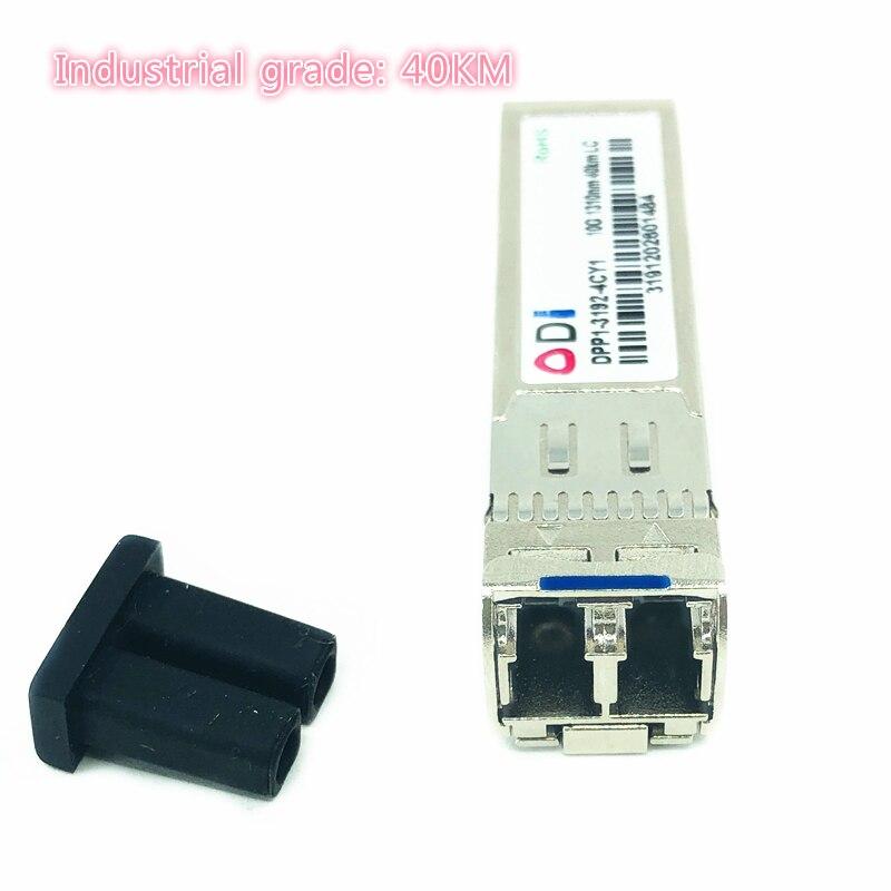 SFP 10G LC 40KM Dual Fiber 1310nm Sfp+ 40KM Cisco Compatible   Industrial Grade SFP+ Transceiver Industrial Grade -40-85 Celsius