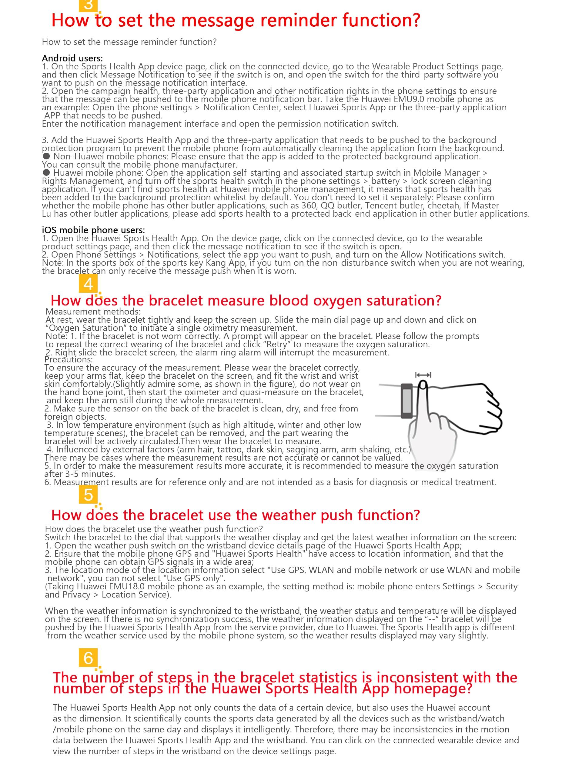 H5c43698271344e24bc504fb2d49c55deV Honor Band 5i Wristband Smart Bracelet USB Charging Music Control Blood Oxygen Monitoring Sports Fitness Bracelet Running Tracke