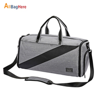 Portable Luxury Suit Storage Bag Men Sport Fitness Business Travel Duffel Bag Large Capacity Dry Wet Separation Shoulder Handbag