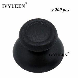 Image 1 - Ivyueen 200 Stuks Analoge Duimknoppen Voor Play Station 4 PS4 Pro Slim Controller Accessoires Voor Dualshock 4 Thumb Stick Caps grips
