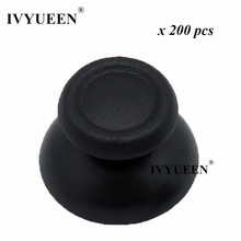 Ivyueen acessórios analógicos para play station 4, polegar, 200 peças, para play station 4, ps4, pro, slim, dualshock, 4 tampas apertos