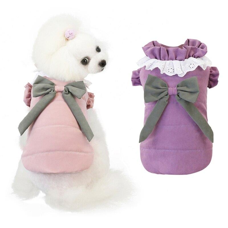 Купить зимнее пальто для домашних животных одежда маленьких собак зимние