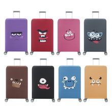 Travel Elastic Luggage Protective Cover Cheap Suitcase Cover 18-32 inch new travel accessories Eye-catching luggage cover rerekaxi travel elastic luggage cover suitcase protective shell trolley case dust cover 22 28 inch travel accessories