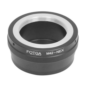 Image 1 - FOTGA Lens Adapter for Metal M42 to Sony E Mount NEX3 NEX5 NEX6 NEX7 A7 A7R A7S A6000 Cameras