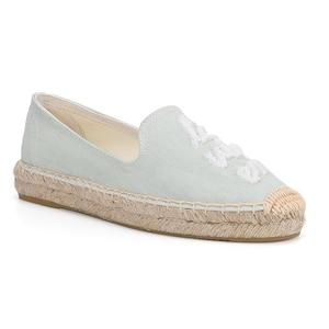 Image 2 - 2020 Top Fashion Special Offer Flat Platform Denim Sapatos Zapatillas Mujer Casual Tienda Sloludos Espadrilles For Shoes Flats