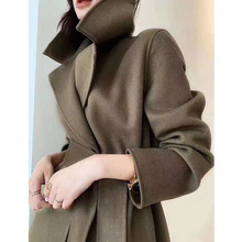 Wool Coat Women Clothing Double-Sided Autumn/winter Long Hot-Selling New
