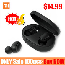 Original Xiaomi Redmi Airdots TWS Wireless Bluetooth Earphone Stereo bass Bluetooth 5.0 With Mic
