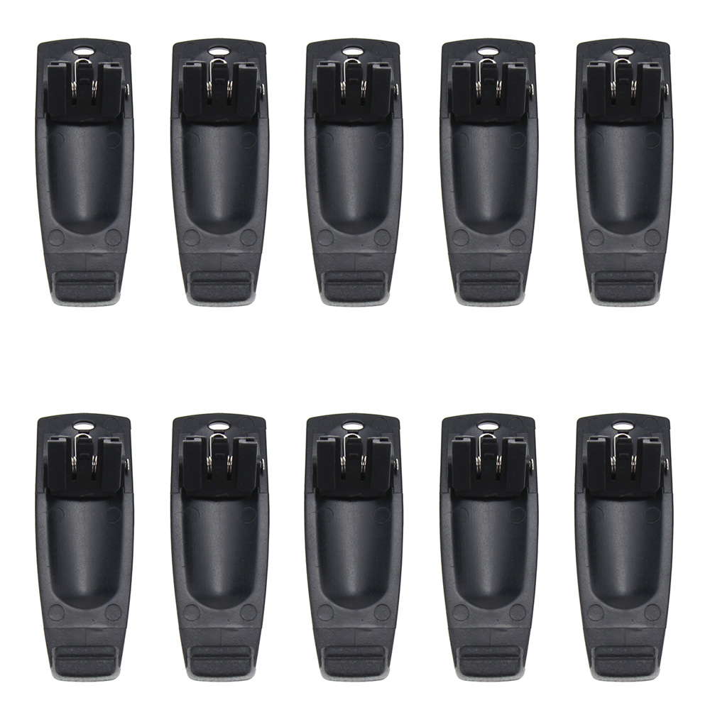 10Pcs Walkie Talkie Belt Clip For Kirisun PT4200 PT5200 PT558 PT668 PT558S PT-558 PT-558S PT-4200