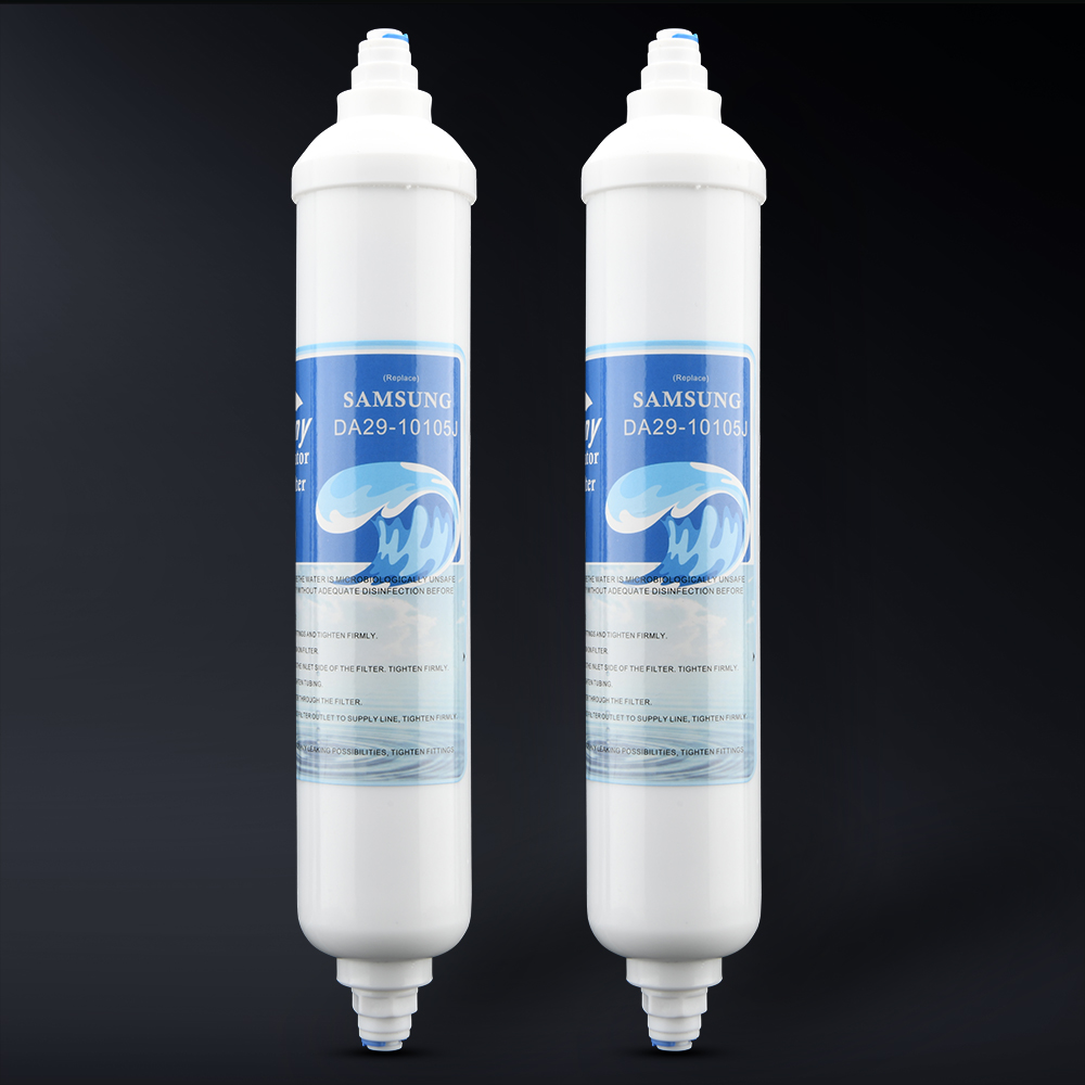 Сменный внешний фильтр для воды в холодильнике совместим с GE GXRTDR, Samsung DA29 10105J, LG 5231JA2010B / C (2 бесплатно)|Водяные фильтры|   | АлиЭкспресс