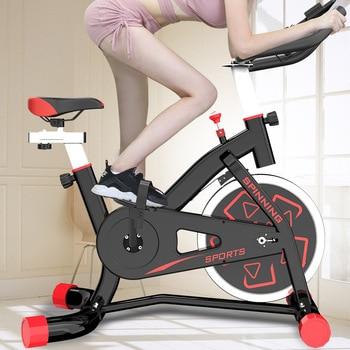 Bicicleta de Spinning para interior, Bicicleta de ejercicio, sala de Fitness, gimnasio, deportes de ciclismo, Bicicleta familiar, Bicicleta estática, rueda de 6KG