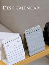 New High-quality Simplicity Coil Desk Calendar Mini 2020 Innovative Flip Decorative For Gift Wholesale