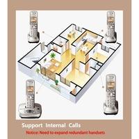 Draadloze Telefoon telefono inalambrico de casa Met Handenvrij Voice Mail Backlit LCD telefone sem fio