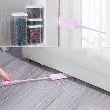 Escova de limpeza de poeira estendida uso doméstico à prova de poeira eletrostática eliminando a escova de compensação com cobertura de telas não tecidas