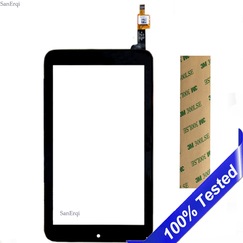 For Alcatel One Touch Pixi7 1216x L216X I216x Touch Screen OT1216 1216 Tablet Digitizer Front Glass Panel Sensor 7