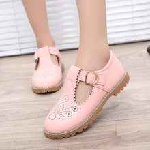 Girl Dress Shoes Autumn New Fashion Princess children Girl Party Solid Pretty