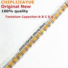 10PCS Tantalum Capacitor Type B 227 476 107 475 106 105 226 4V 6.3V 16V 25V 35V 50V 1UF 220UF 4.7UF 10UF 47UF 100UF B3528 1210