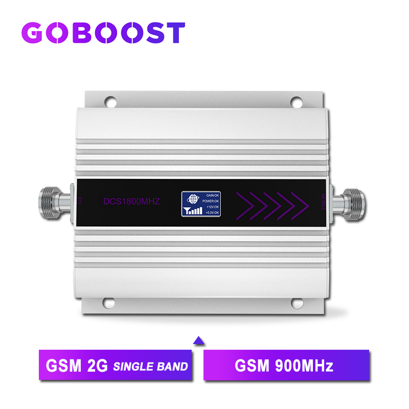 GSM 900MHZ Cellular Signal Amplifier 60dB 50OHM LCD Display Cell Mobile Phone Payload Signal Internet Communication Repeater >