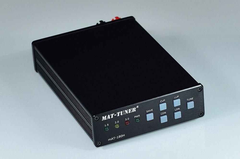 Latest Version 3-54MHz MAT-180H HF Auto-tuner 120W AUTO TUNER Automatic Antenna Ham Radio For ICOM