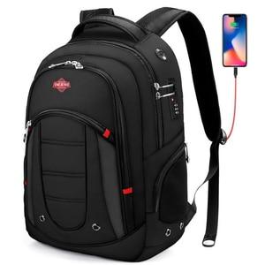 15.6 Inch Waterproof Laptop Backpack Men USB Charging Travel Backpack Women Oxford Rucksack Male Vintage School Bag Mochila New