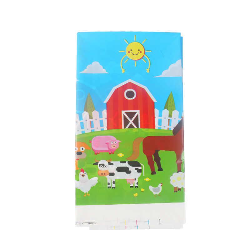 Włókniny zwierzęta gospodarskie Party torby na prezenty Baby Shower torby cukierków prezenty dla dzieci pakowanie plecak chłopcy dziewczęta dekoracje na imprezę urodzinową
