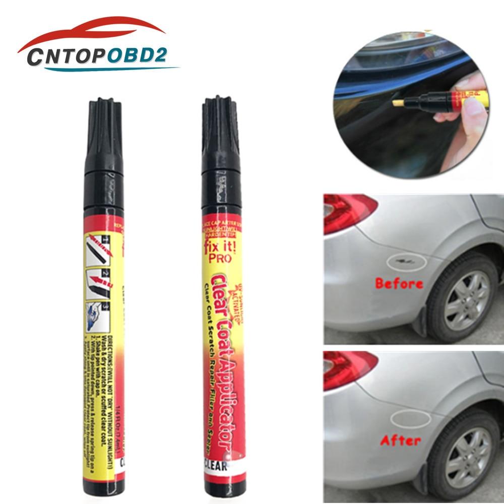 Car Scratch Repair Pen Portable Fix It Pro Clear Car Scratch Repair Remover Pen Car-styling Clear Coat Applicator Auto Paint Pen