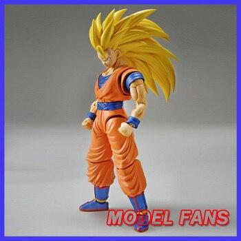 MODEL FANS Original BANDAI Dragon Ball Z Figure-rise Standard super saiyan 3 son goku gokou Assembly Action Figure Toys