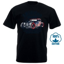 American Hot Rod Mens T Shirt Classic Us