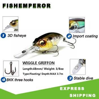 Jerk bait Minnow 38mm/8g 48mm/11g Fishing Lures Artificial Hard Bait Pike/Bass Mini Fish Wobblers Pesca Crankbait Carp Fishing цена 2017