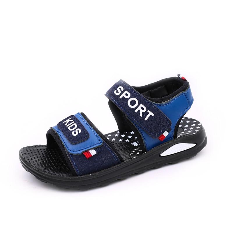 Skoex 2020 New Summer Children's Casual Sandals Boys Fashion Open Toe Outdoor Beach Fisherman Sandal Kids Fashion Walking Shoe
