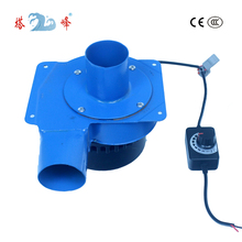 Air-Blower-Fan Centrifugal Brushless-Motor High-Pressure Stepless Small 12v DC with Switch-Control