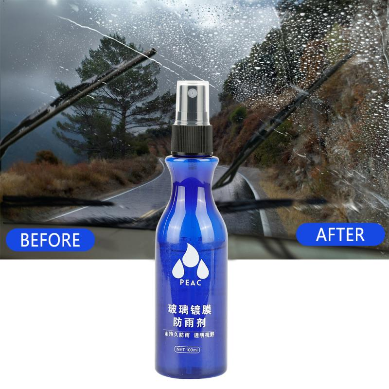 Automotive Glass Coating Agent Waterproof Agent Glass Car Windshield Anti Rain Cleaner Oil Film Remover Rearview Rain Repellent