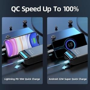 QC 3,0 внешний аккумулятор 30000 мАч Внешний Аккумулятор для ноутбука/ноутбука на мобильный телефон