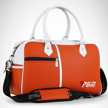Golf Bag Male Female Golf Clothing Bag Shoes Large Capacity Double-layer Waterproof PU Bags  B2Cshop