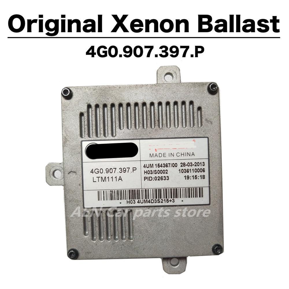 AUDI VOLKSWAGEN Xenon headlight Zavorra 4G0907397P