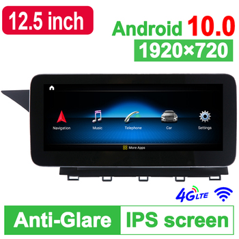 D-1225,10.25 inch Android 10.0 System Car GPS Navigation Media Stereo Radio For Mercedes-Benz GLK X204 2008 2009 2010 2011 2012 image