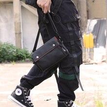 FYUZE Men sling bag mini Nylon Waterproof male shoulder bag boy wallets small chest bag slim
