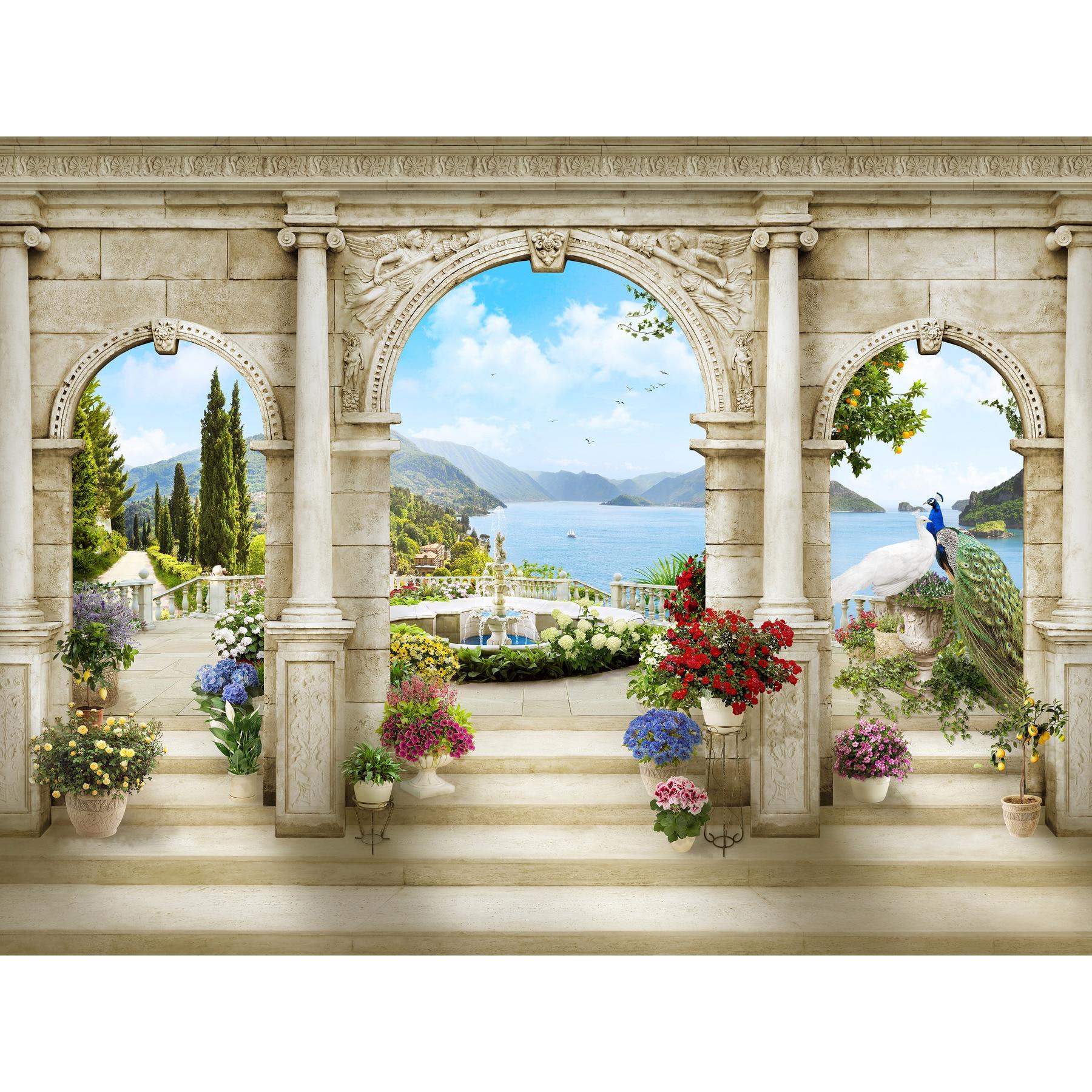 3D Photo Wallpaper Wallpaper Wall Mural, Wallpaper Custom, Hall, Kitchen, Bedroom, Children's, Photo Wallpaper Enhance Space
