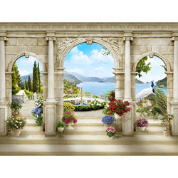 3D photo wallpaper wallpaper wall mural, wallpaper custom, hall, kitchen, bedroom, children's, photo wallpaper enhance space