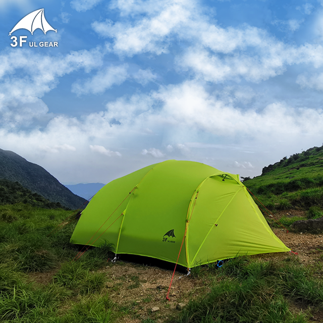 F UL GEAR 4 Person 4 Season 15D Camping Tent  4