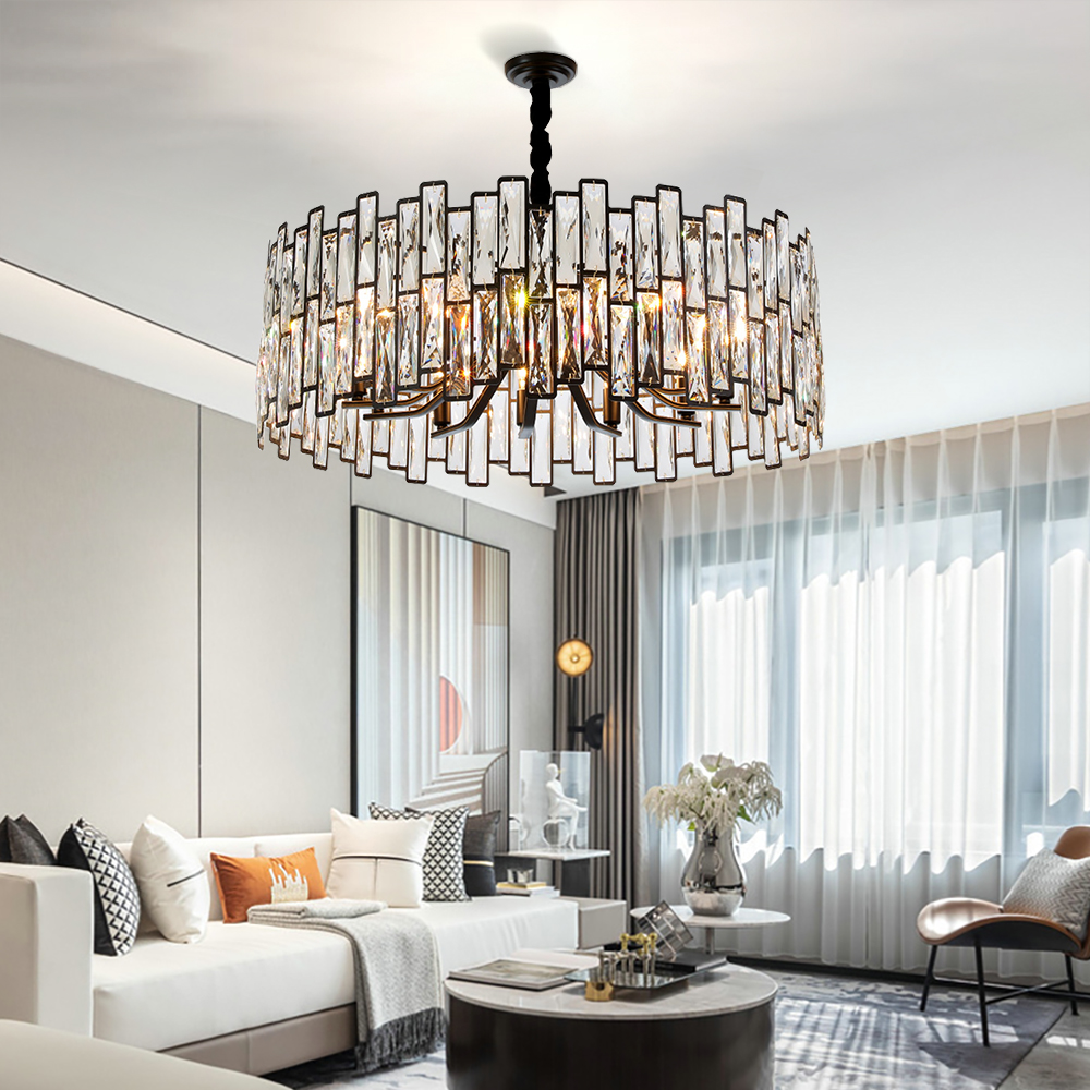 Modern Black Chandelier Lighting